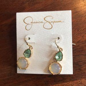 Jessica Simpson earrings.